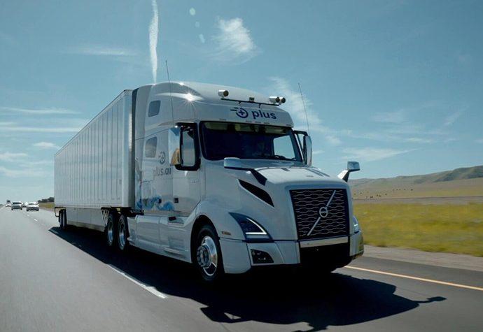 Camión Autónomo De Plusai