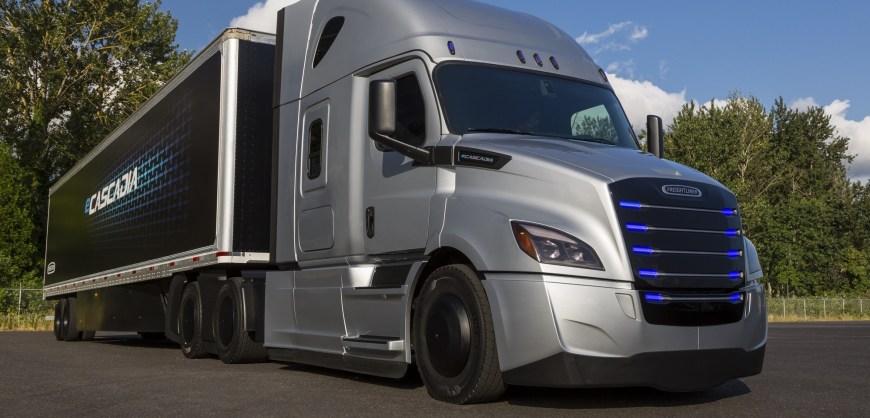 Camión ecascadia de Daimler
