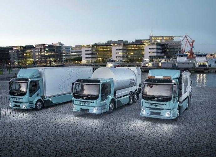 Camiones Eléctricos De Volvo Multiproposito