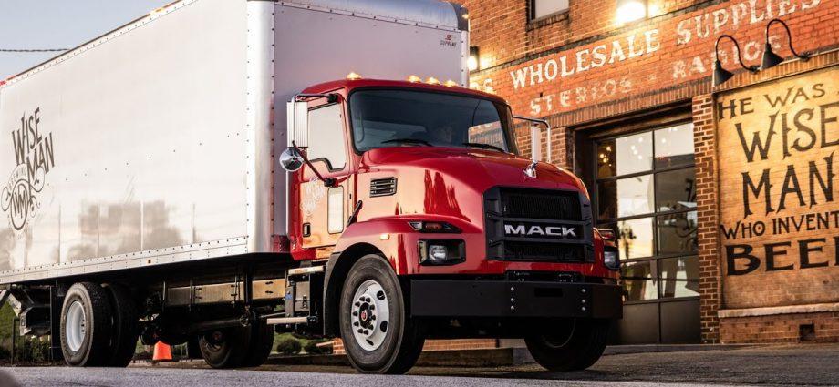Mack Md Camión De Servicio Mediano