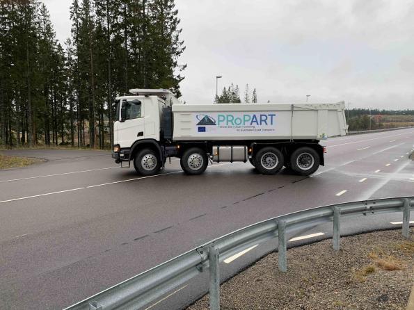 Proyecto Propart De Scania En Europa