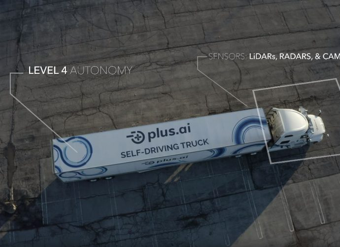 Camión Autónomo Avanzado De Plusai