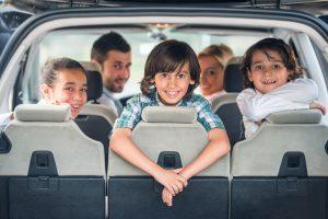 viajar en auto con ninos