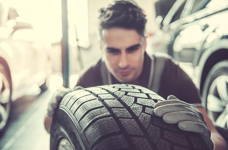 car service checklist tyre