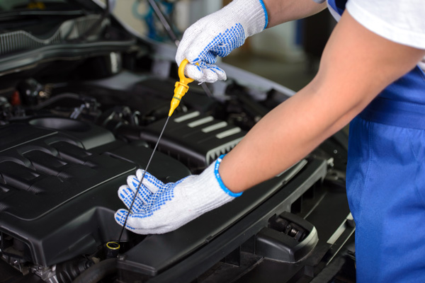 aceite sintetico en auto.